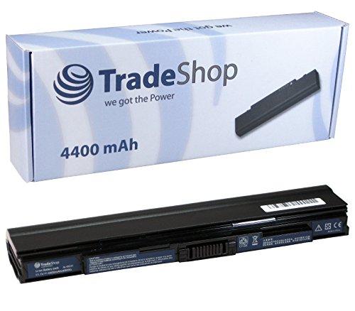 Trade-Shop Premium Akku 10,8V/11,1V / 4400mAh ersetzt Acer AK.006BT.073, AL10C31, AL10D56, BT.00603.113, BT.00605.064, LC.BTP00.130 für Acer Aspire 1425p 1430 1830 One 721 753 1551 1830T (48wh 6-zellen-lithium-ionen-akku)