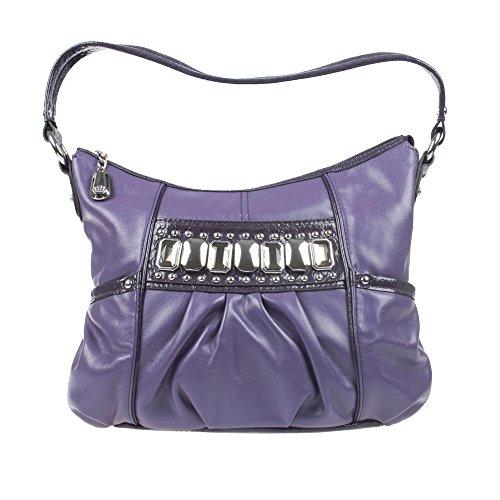 76e659b1d3 KATHY Van Zeeland Sac à main Femme U Violet H52105 BLUEBERRY