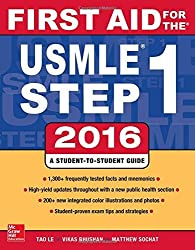 First Aid for the Usmle Step 1, 2016 by Tao Le (2016-01-01)