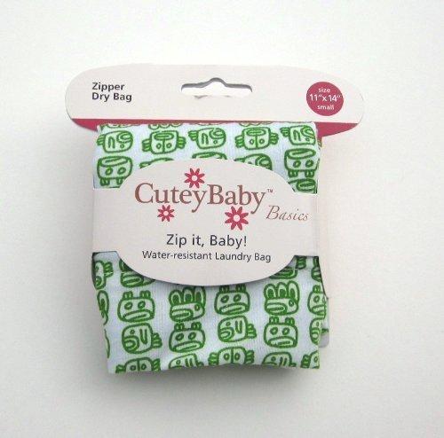 cuteybaby-zip-it-baby-zipper-dry-bag-kelly-green-tribal-small