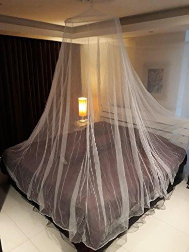Moskitonetz XXL in Baldachinform geeignet für alle Bettengrößen Insektenschutz Mückennetz