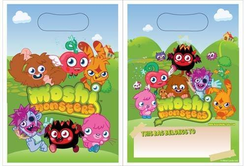 Image of Moshi Monster Party Bags 8pk