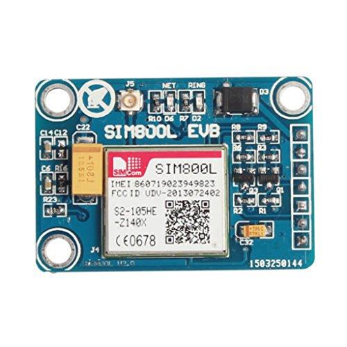 Sim800l Gprs TTL Porta Modulo GSM Micro Bordo Di Centro