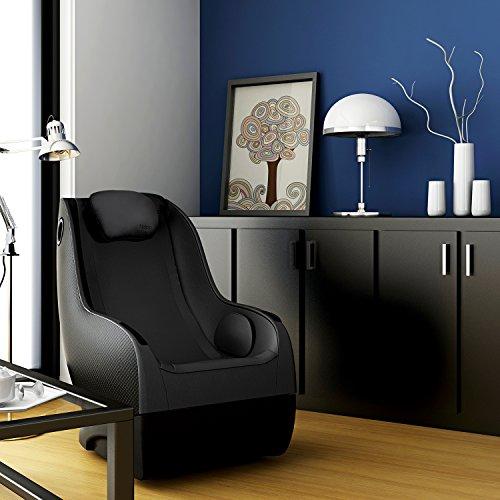 Naipo Shiatsu Massage Stuhl Massagesessel Ganzkörpermassagegerät mit SL Track, 3D Surround Sound Musik - 7