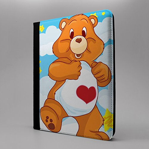 Care Bear Cartoon Tablet Flip Schutzhülle für Apple iPad Pro 24,6 cm – Care Bear Tenderheart (Tenderheart Bär)