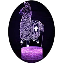 Fortnite 3D Lámpara de Escritorio Win-Y LED 7 del tacto del color de la lámpara del dormitorio del hogar decoración de la oficina para los niños y regalo de ...