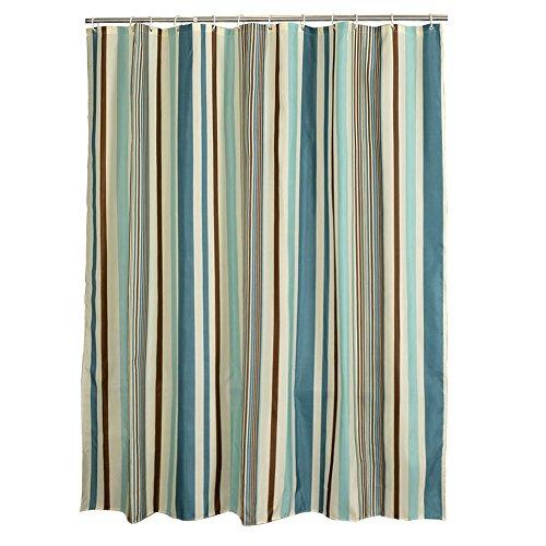 rideau de douche Rideau de douche, style européen, polyester, épaississement imperméable à l'eau, rideau de cloison à rayures verticales, rideau, rideau de fenêtre ( taille : 120*200cm )