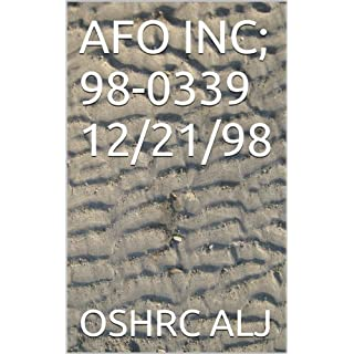 AFO INC; 98-0339  12/21/98 (English Edition)