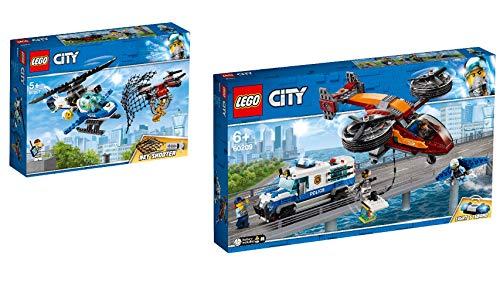 Steinchenwelt Lego® City 2er Set: 60207 Polizei Drohnenjagd + 60209 Polizei Diamantenraub - Ziel Lego City