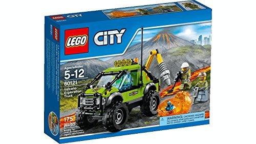 LEGO City Volcano Exploration Truck Set #60121 by LEGO