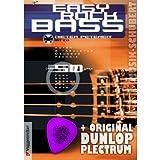 Easy Rock Bass (+CD) mit herausklappbarer Griffbrettübersicht und Plektrum - Die beliebte Bassgitarrenschule für Einsteiger mit über 50 Licks aus Rock/Pop/Funk/Soul/Reggae in Noten und Tabulatur (Taschenbuch) von Dieter Petereit (Noten/Sheetmusic)