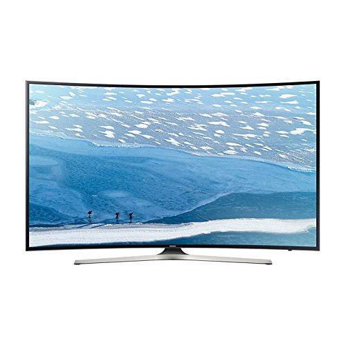 Samsung UE49KU6100 - Televisor LCD, LED y plasma, curvado, 4K 49 pulgadas, 124cm, 16/9, 3840x2160 píxeles, Ultra-HD, HDR, TDT y cable HD, wifi, 1400PQI