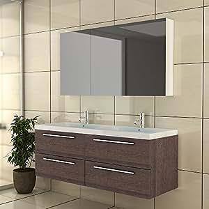 Waschplatz badezimmer doppelwaschbecken badm bel for Badschrank doppelwaschbecken