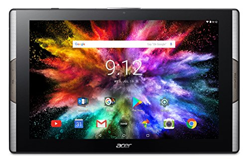 "Foto Acer Iconia Tab 10 A3-A50-K23Y Tablet PC con Processore MTK MT8176, RAM da 4 GB, eMMC 64 GB, Display 10.1"" FHD Multi-Touch LCD, Sistema Operativo Android, Nero"