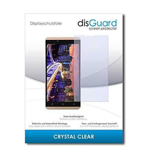 disGuard® Bildschirmschutzfolie [Crystal Clear] kompatibel mit BLU Vivo XL [3 Stück] Kristallklar, Transparent, Unsichtbar, Extrem Kratzfest, Anti-Fingerabdruck - Panzerglas Folie, Schutzfolie