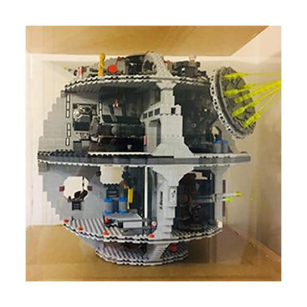 DXX Acrilico Vetrina Acrylic Display Case Scatola di Acrilico Trasparente per Lego 75159 - Star Wars Morte Nera (Nessun… 5 spesavip