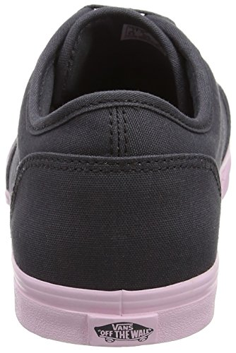 Vans Wm Atwood Low, Sneakers Basses Femme Gris (Pop Sole Asphalt/pink Lady)