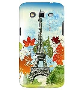 PrintVisa Travel Paris 3D Hard Polycarbonate Designer Back Case Cover for Samsung Galaxy Grand 2
