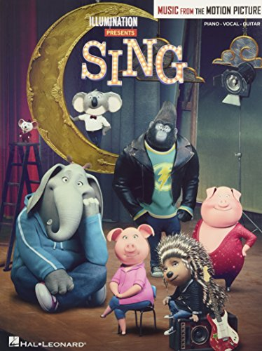 Sing - Music From The Motion Picture (PVG Book): Songbook für Klavier, Gesang, Gitarre (Motion Books Picture)
