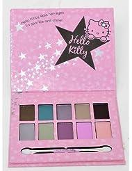 Hello Kitty Cosmic Eye Pallet Set . 10 Shimmer Eye shadows and Applicator