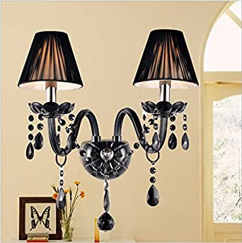 rare new noir vintage support mural lampe de plafond industriel r tro luminaires et. Black Bedroom Furniture Sets. Home Design Ideas