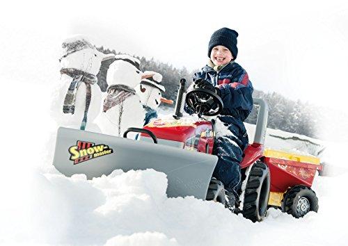 Rolly Toys 409617 rollySnow Master Planierschild für Traktor rollyJunior, rollyFarmtrac, rollyFarmtrac Classic, rollyFarmtrac Premium, rollyX-Trac, rollyTruck(Unimog) | Schneeschild Frontanbau - 6