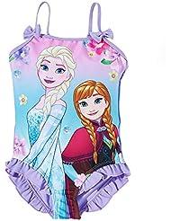 Disney La Reine des neiges Fille Maillot de bain - pourpre