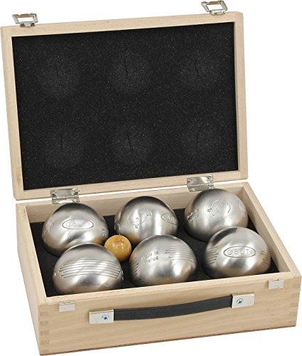 Obut K6 Salamandre - Side, 6er Set, Boule - Koffer, aus Frankreich Freizeitkugeln