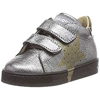 Falcotto Baby Mädchen Venus VL Sneaker, Silber (Acciaio 0q02), 22 EU
