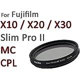 Haida Pro II Digital Polfilter Zirkular MC (multicoating) - Spezialgröße 40mm - Für Fuji X10 und X20 - inkl. Cap mit Innengriff