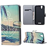 Liquid Z630 Hülle Wallet Case Flip Cover Hüllen