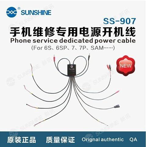 Longue vie Usb Fil de cuivre pur Câble d'alimentation pour la réparation de la série iPhone SUNSHINE SS-907