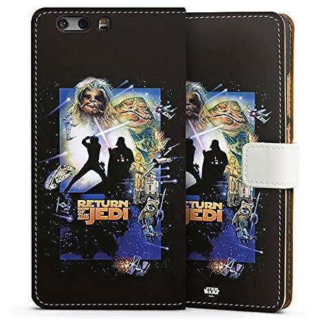 Huawei P10 Plus Tasche Hülle Flip Case Star Wars Merchandise Fanartikel Return Of The Jedi