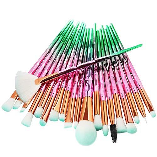 Berufsverfassungs oder Ausgangsgebrauch Makeup Pinsel Brush Set Hochwertig & Vegan**Ideal Geschenke...