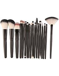 Ensemble de pinceaux de maquillage, 18 pinceaux de maquillage - BZLine Premiers outils de maquillage pour apprenants...