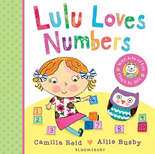 Lulu Loves Numbers por Camilla Reid