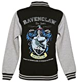 Harry Potter Ravenclaw Quidditch Team Damen College Jacke Schwarz