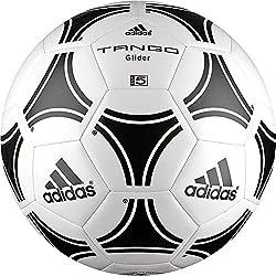 adidas Tango Glider - Balón de fútbol, color blanco/negro, tamaño 5