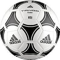 Adidas Tango Glider Palla, Uomo, Bianco/Nero, 5