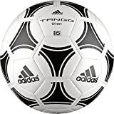 adidas Erwachsene Ball pucks Kugeln Tango glider, weiß (White/Black), 5, S12241 (Ausrüstung)