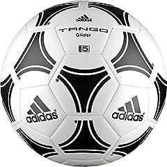 Idea Regalo - Adidas Tango Glider, Palla Uomo, Bianco/Nero, 5