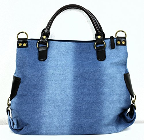 Limited-Colors, Borsa a mano donna Bluejeans