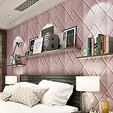 Wandaufkleber Yesmile,3D Wallpaper DIY Wandaufkleber Dekor Drucken Anti-Kollision Wandaufkleber Wallpaper 70X70CM (E)