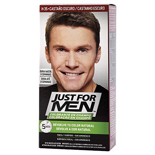 Just For Men, Tinte Colorante en champu para el cabello del hombre....