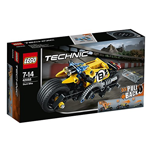 Preisvergleich Produktbild Lego Technic 42058 - Stunt-Motorrad, Fortgeschrittenes Autospielzeug