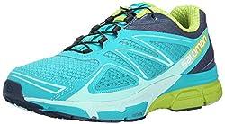 Salomon Women's X-scream 3d Training Running Shoes, Blue (Teal Blue Fslatebluegranny Green), 4.5 Uk (37 13 Eu)
