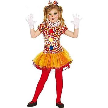 98157c4535af Costume clown pagliaccio pagliaccetta carnevale bambina taglia 10-12 anni