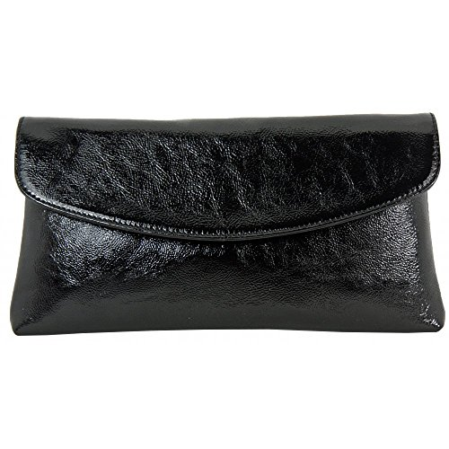 Clutch Bag Winema Blk Patent