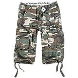 Surplus Trooper Legend 3/4 Shorts 5XL Woodland