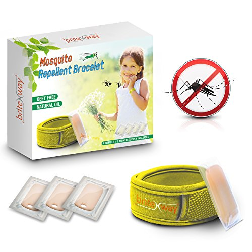 muckenschutz-gelbes-armband-all-natural-wasserdichte-bekampfer-armbandchen-plus-4-nachfullungen-deet